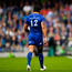 An injured Isa Nacewa leaves the pitch during the Guinness PRO14 final. Photo: Ramsey Cardy/Sportsfile