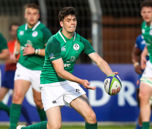 Harry Byrne starts at out-half. Photo: Sportsfile