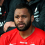 Billy Vunipola is having a horror run of injuries, the latest a broken arm. Photo: Getty