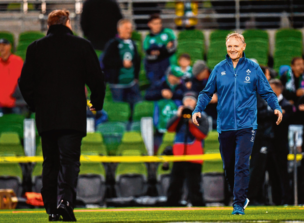Under Joe Schmidt Ireland's quality of preparation is in a different time zone. Photo: Ramsey Cardy/Sportsfile