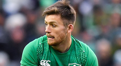 Ross Byrne: Ready to kick on again. Photo: Sportsfile