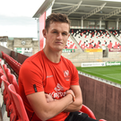 Billy Burns: 'I'm not going to say I'm nowhere near but I believe I've got a long way to go for international honours'. Photo: Oliver McVeigh/Sportsfile