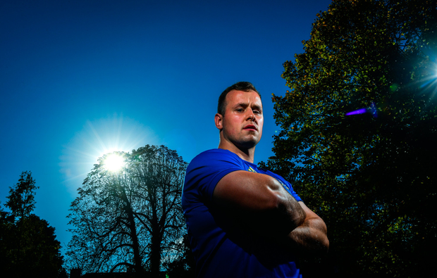 Burning desire: Ed Byrne is hoping to push his claims to move further up the Leinster pecking order over the coming weeks. Photo: Sportsfile