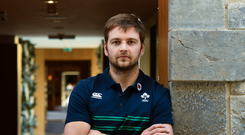 Iain Henderson: 'I feel an awful lot better in managing my time now' Photo: Sportsfile/Sam Barnes