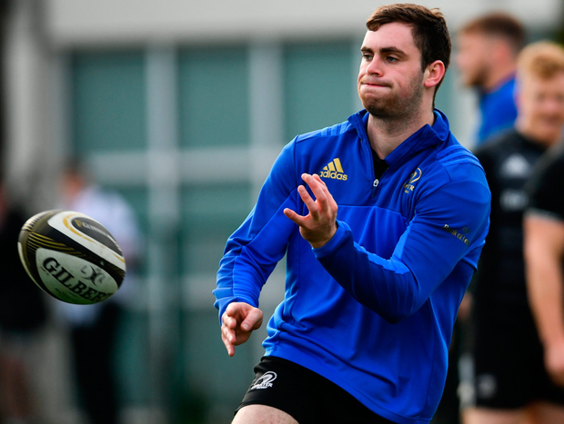 Conor O'Brien hard at work in training. Photo: Sportsfile