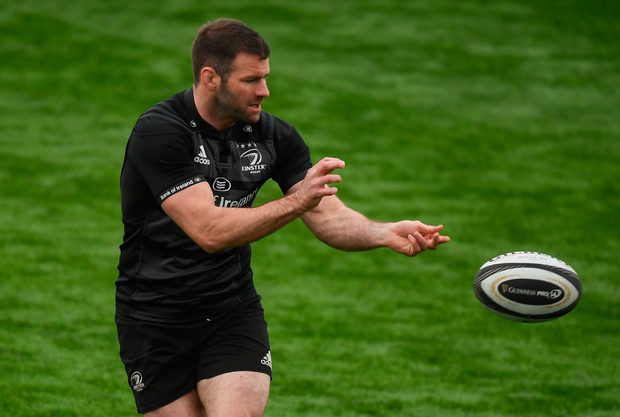 Fergus McFadden was honoured by supporters. Photo: Sportsfile