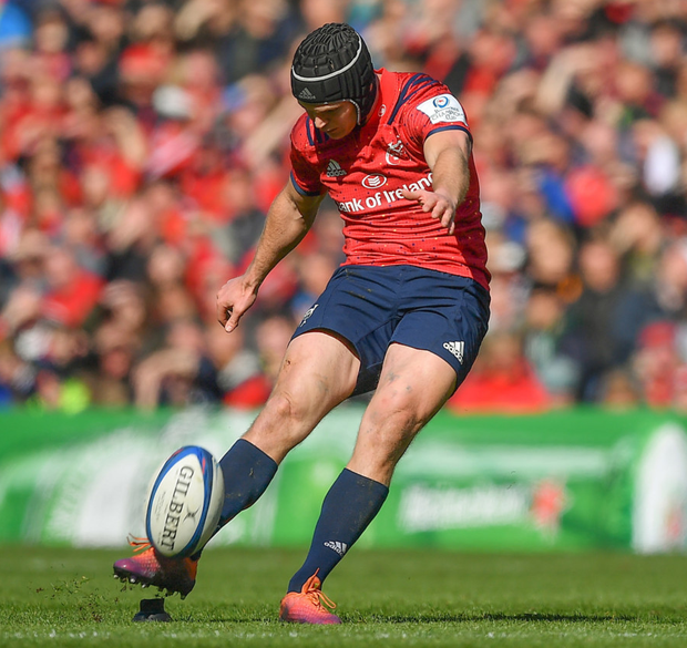 Tyler Bleyendaal in action for Munster. Photo: Sportsfile