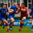 If Jordan Larmour is selected to start the PRO14 final, Glasgow are likely to target him defensively. Photo: Sportsfile