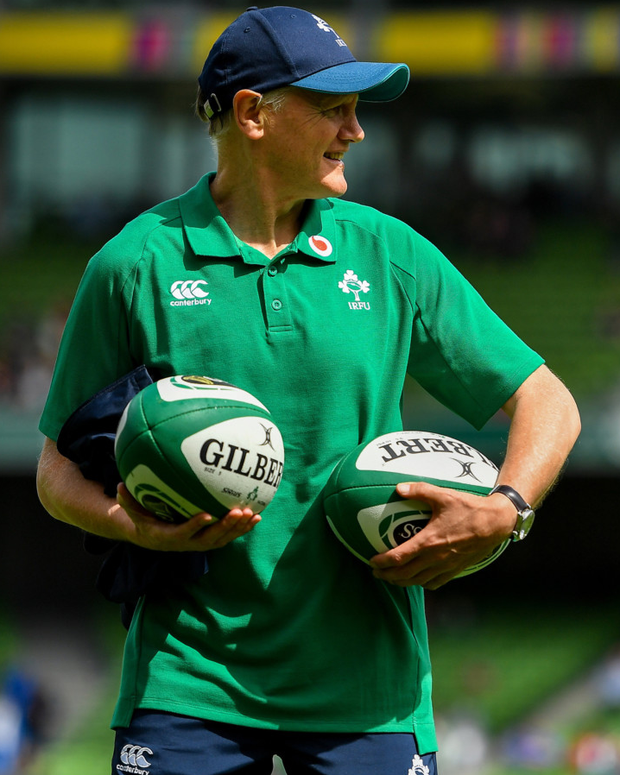 Joe Schmidt must cut nine more players from squad. Photo: Sportsfile