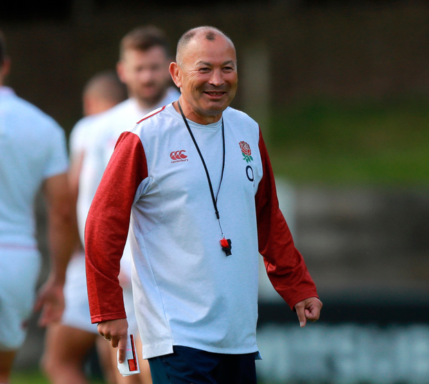 England head coach Eddie Jones and his squad have been left stranded at Tokyo airport. Photo: David Rogers/Getty Images