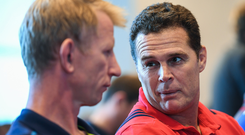 Rassie's Irish connection: South Africa coach Rassie Erasmus knows Irish rugby well from his time in charge of Munster where he spent met the likes of Leo Cullen (pictured), Peter O'Mahony and CJ Stander. Photo: Sportsfile