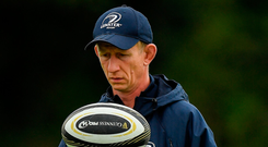 Leo Cullen's hand has been strengthened by the progress of his young guns. Photo: Sportsfile