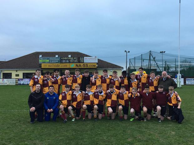 Rugby One of Traynor's teams St Ciaran's JCT side