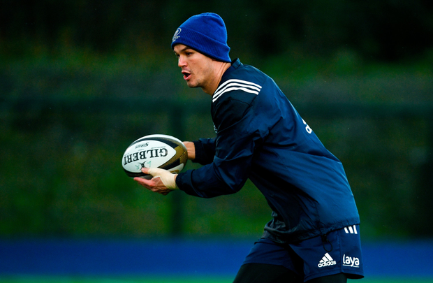 Johnny Sexton returned to Leinster training this week. Photo: SPORTSFILE