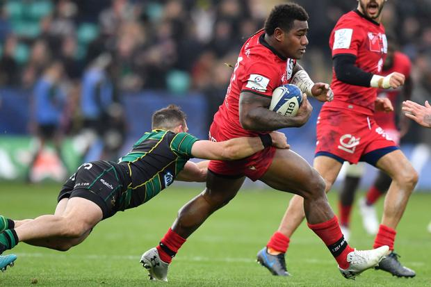 Danger men: Josua Tuisova (pictured) and Charlie Ngatai are two players I know well. We'll need to watch both of them carefully tomorrow