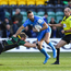 Leinster's Dave Kearney is tackled by Rory Hutchinson of Northampton last weekend