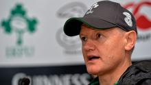 Despite a long list of injuries, Joe Schmidt says there's an upbeat mood in the Ireland camp ahead of the autumn internationals