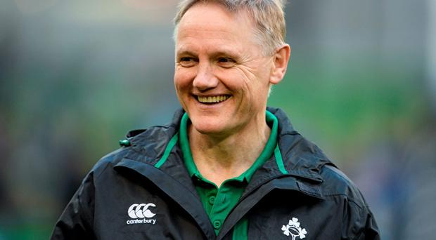 Ireland head coach Joe Schmidt ahead of the game