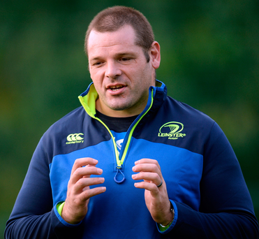 Mike Ross during squad training. Picture: Sportsfile