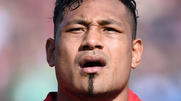 Sonatane Takulua led Tonga to victory in Italy. Photo: PA