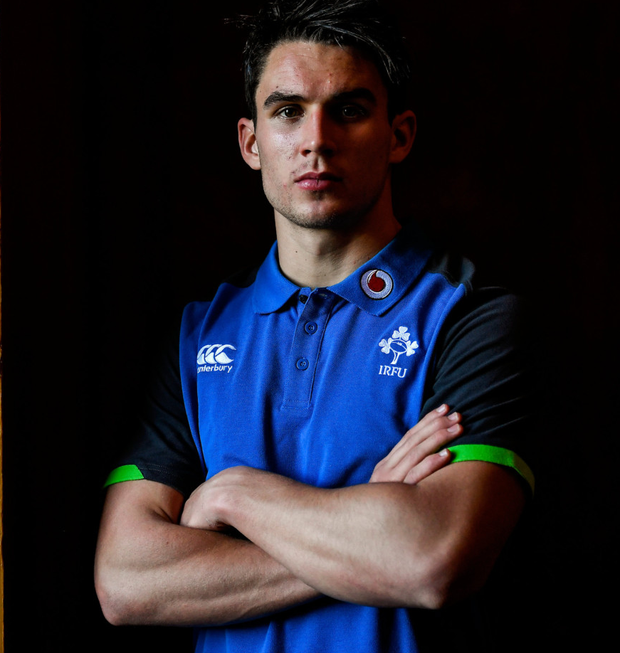 Joey Carbery has established himself in the Leinster team and now wants to do the same with Ireland. Photo: Brendan Moran/Sportsfile