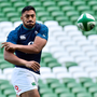 'The first people Aki rang when he found out that he was in the Ireland squad last autumn were his parents, Hercules and Sautia, back in New Zealand.' Photo: Sportsfile
