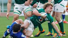 Ireland's Craig Casey in action during Ireland's win over Italy in Rome yesterday. (Photo: Reuters)