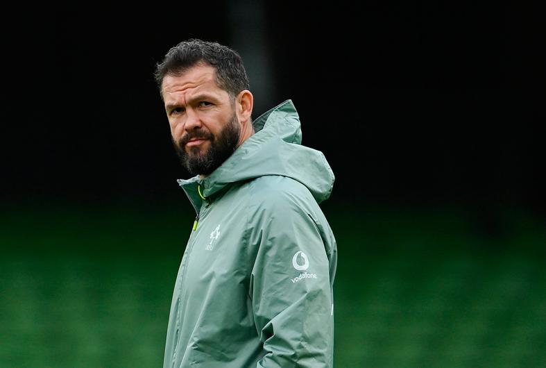 Ireland head coach Andy Farrell. Photo: Ramsey Cardy/Sportsfile