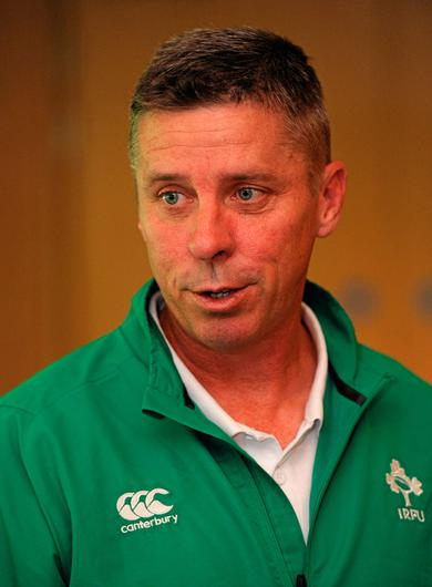 The IRFU's directory of women's rugby, Anthony Eddy. Photo: Sportsfile