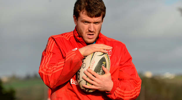 Hooker Mike Sherry's attempts to rouse the restless faithful cannot but help resort to the familiar, familial sense of desperate salvation: SPORTSFILE