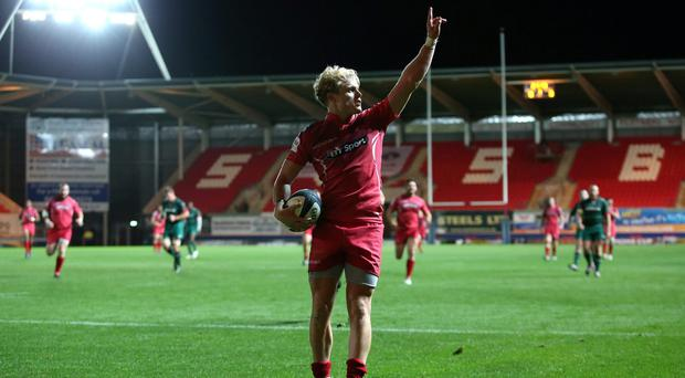 Aled Davies of Scarlets has been named in Warren Gatland's Six Nations squad