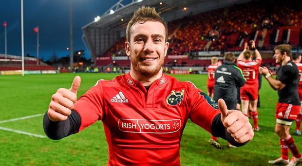 JJ Hanrahan is on his way back to Munster