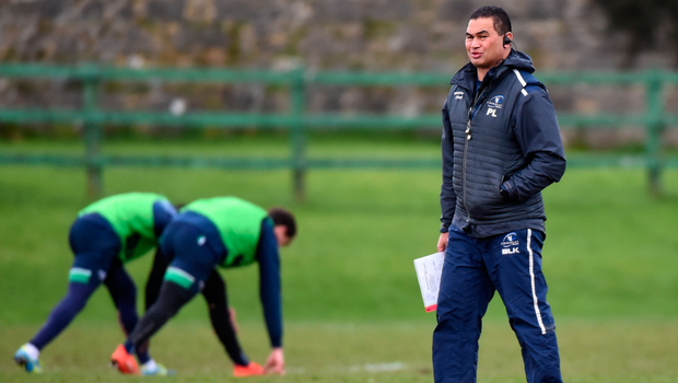 Pat Lam keeps a watchful eye on Connacht training Picture: Sportsfile