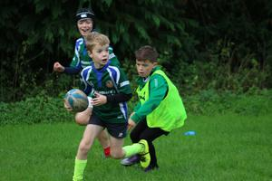Oughterard has a thriving underage structure with its minis section running from U-7 to U-12s