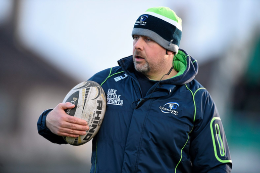 Connacht assistant coach Dan McFarland