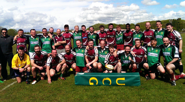 The NUIG and UCG Legends teams