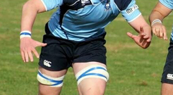 Jack Dunne from St Michael's College in Dublin was one of the players selected for the summer programme in 2014