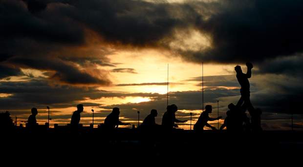 Connacht and Dragons do battle under the Galway night sky