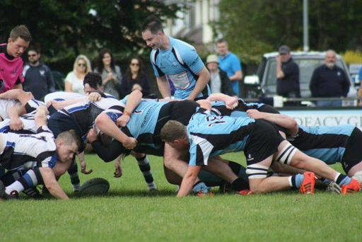 Galwegians made an inspired return to the top flight of the Ulster Bank league with a 12-11 victory over Cork Constitution