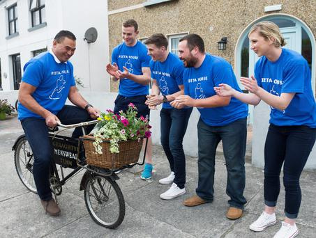Connacht coach Pat Lam at the launch of Pieta's House Pieta 100 Cycle – a 50km or 100km cycle that will take place in Galway on Sunday September 27 at 10.30am