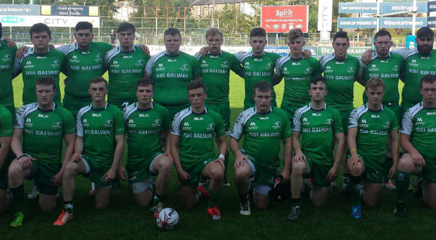 The Connacht U19 squad