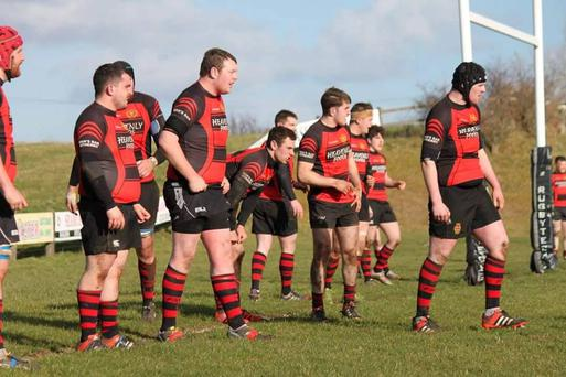 Monivea firsts played out an entertaining 15-15 draw against Galwegians