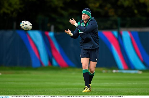 Robbie Henshaw is back in business for the Treviso match