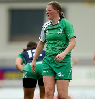 Mairead Coyne who will make her senior debut against England