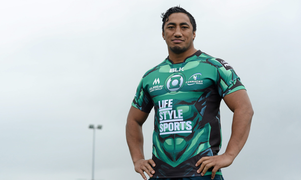 Connacht's Bundee Aki is equally adept at 12 and 13