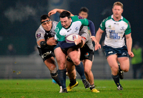 Denis Buckely in action against Brive