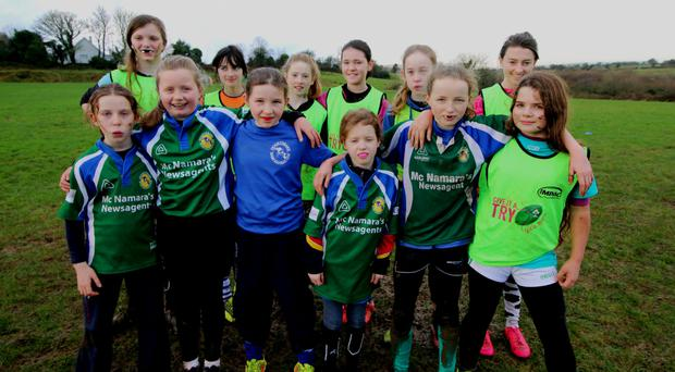 Oughterard girls at a recent blitz