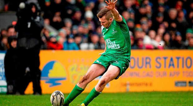 Carty is doubtful for their April 9 clash away to Grenoble in the final eight of that competition, and is likely to miss a large chunk of Connacht's run-in in the Pro12 (Sportsfile)