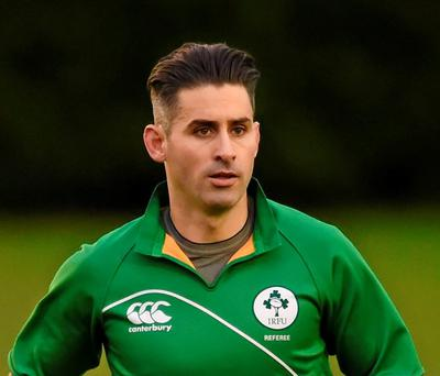 Frank Murphy, who played over 100 times for Connacht, started refereeing last season and has quickly progressed to the professional game