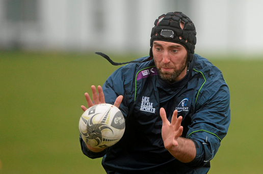 Main: John Muldoon in action during training (SPORTSFILE)